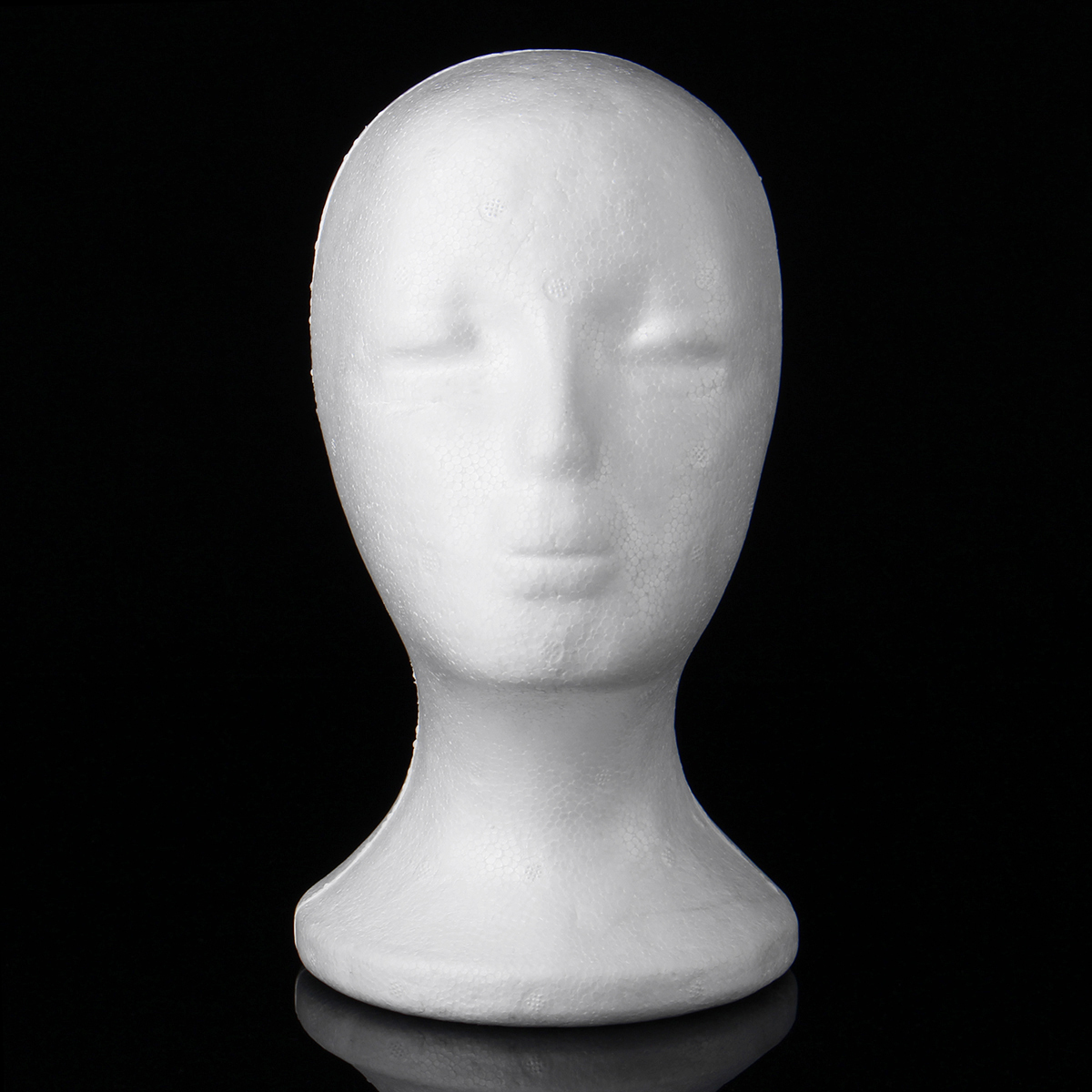 Mannequin Head Model Hat Wig Glasses Display Stand Rack