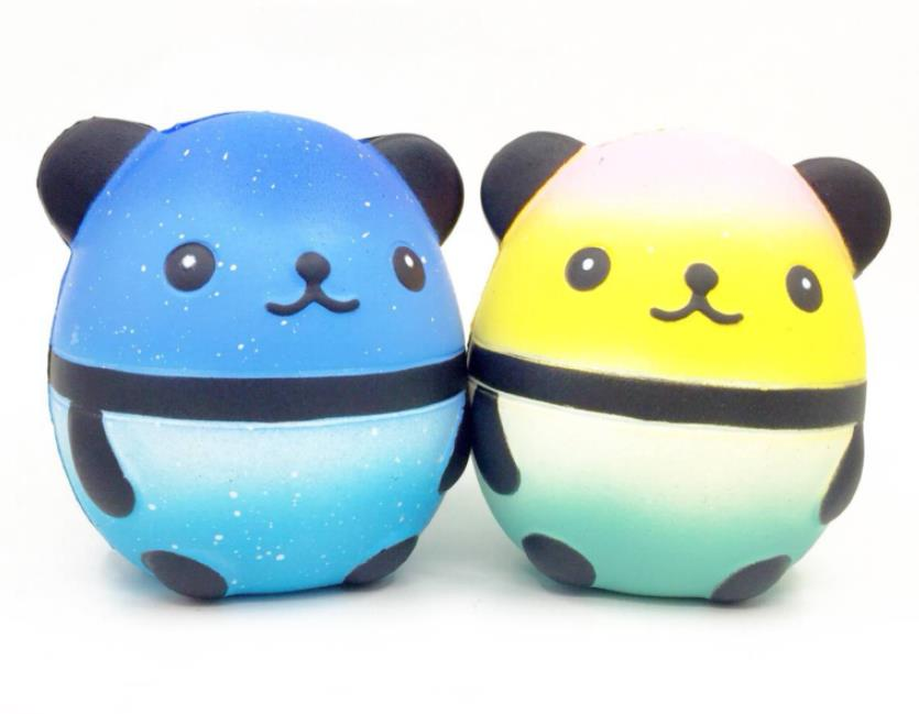 Squishy Panda Doll Egg Slow Rising With Packaging Collection Gift Decor Soft Squeeze Toy