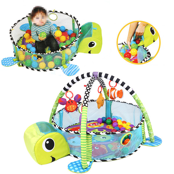 Infant Toddler Baby Play Set Activity Gym Playmat Floor Rug Kids Toy Carpet Mat Infant Toddler Toy