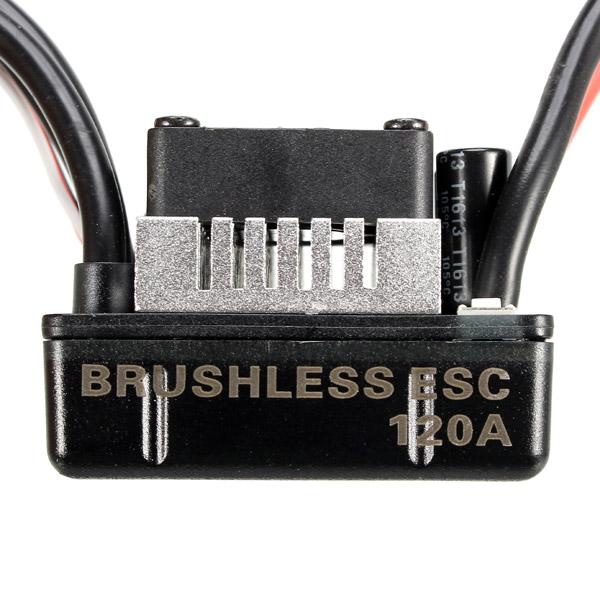 Racerstar 4068 Brushless Waterproof Sensorless Motor 2050KV 120A ESC For 1/8 Cars RC Car Parts