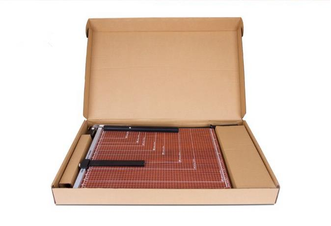 Deli A4 Wooden Portable Paper Cutter Paper Trimmer Scrap Machine For Home Office