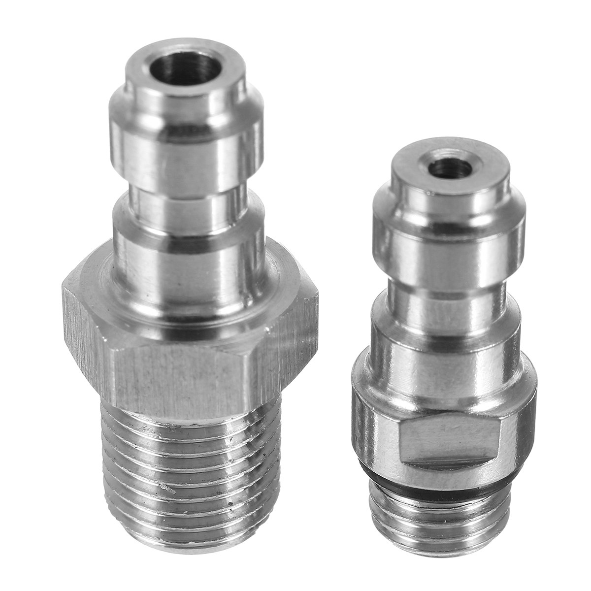 M8x1.0 Threads PCP Fill Nipple Stainless Steel 8mm Air Tank One Way Foster Fitting Screwed Joint