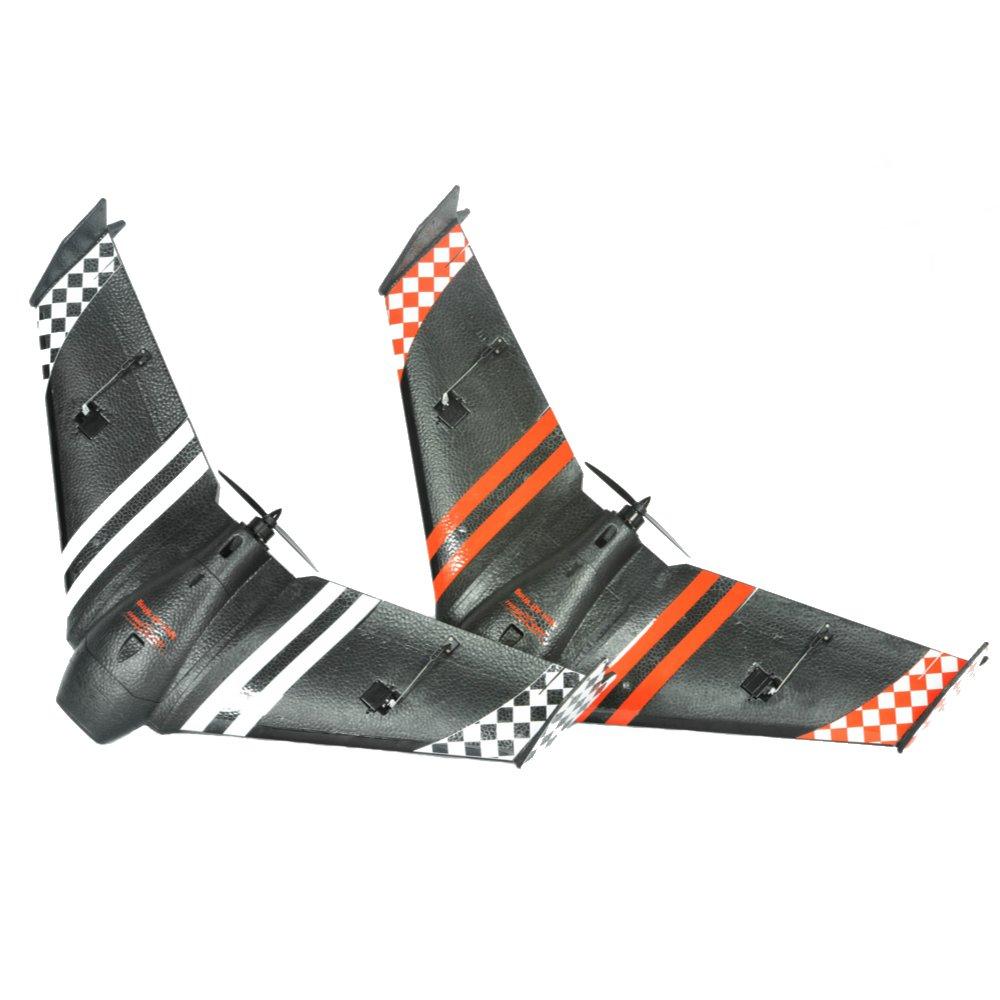 Купить со скидкой Sonicmodell Mini AR Wing 600mm Wingspan EPP Racing FPV Flying Wing Racer RC Airplane PNP
