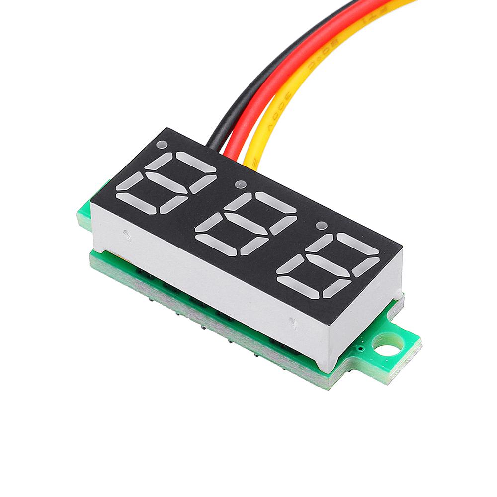 10Pcs Geekcreit® Green 0.28 Inch 2.6V-30V Mini Digital Volt Meter Voltage Tester Voltmeter