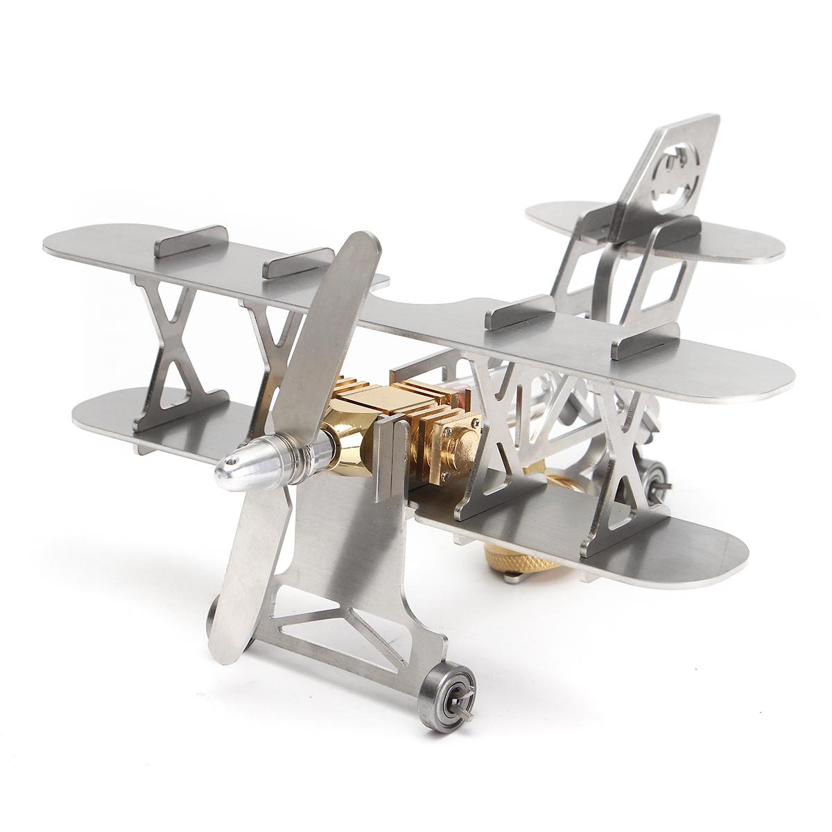 Aircraft Engine Stirling Engine Plane Motor Power Generator Model Piston Motor