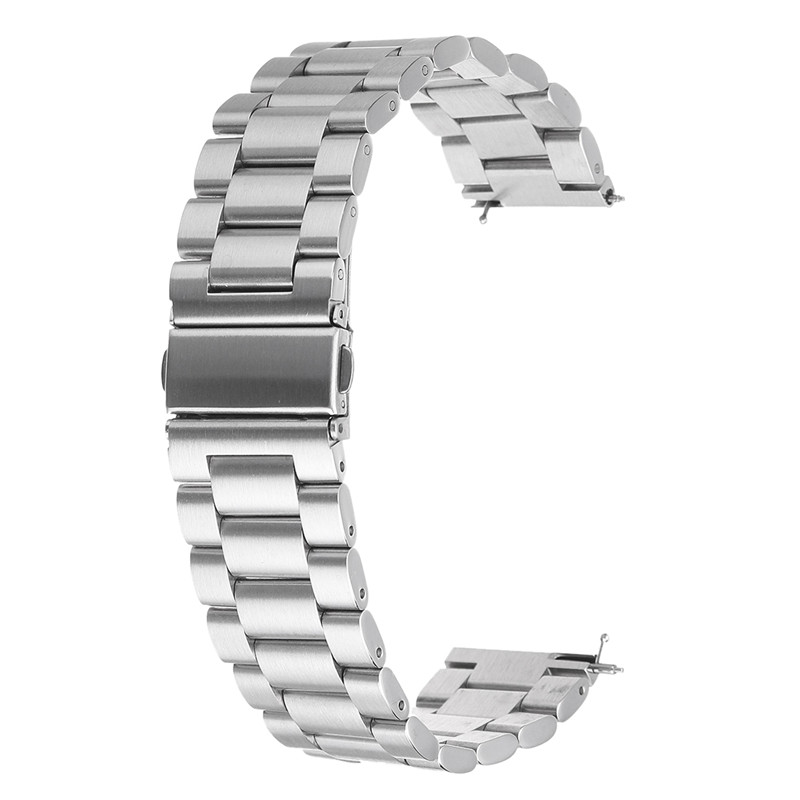 Bakeey 28mm Replacement Stainless Steel Wrist Watch Band Strap for Fitbit Versa