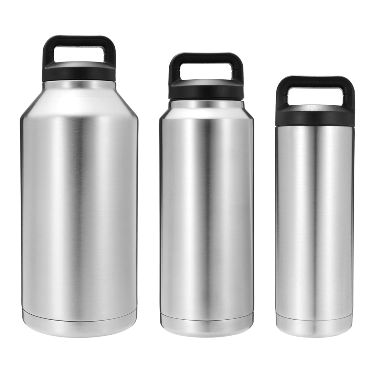 18-64oz Stainless Steel Thermos Camping Double Wall Coo