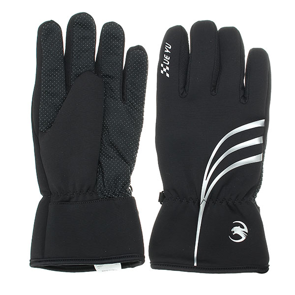 Full Finger Waterproof Windproof Knight Protective Gloves For Motorcycle Cycling Racing