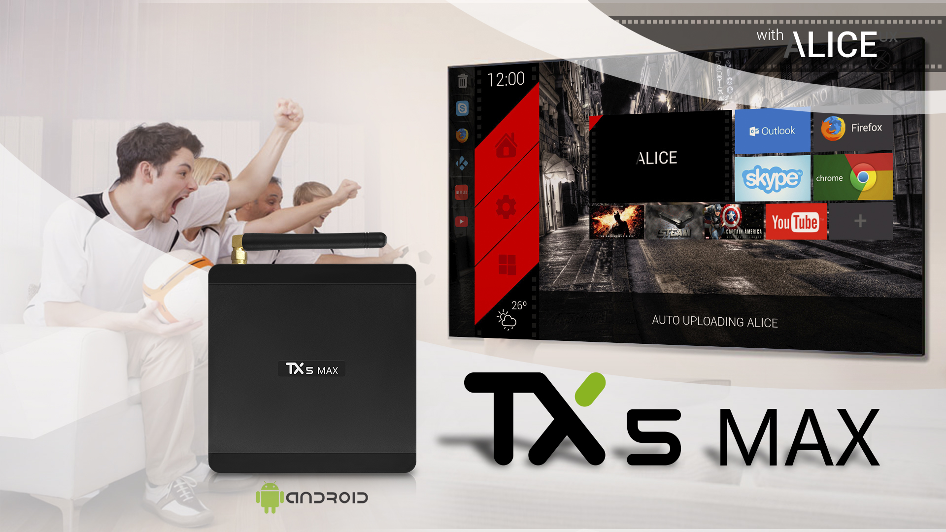 Tanix TX5 Max S905X2 4GB DDR4 32GB Android 8.1 5G WIFI bluetooth4.2 1000M LAN 4K TV Box