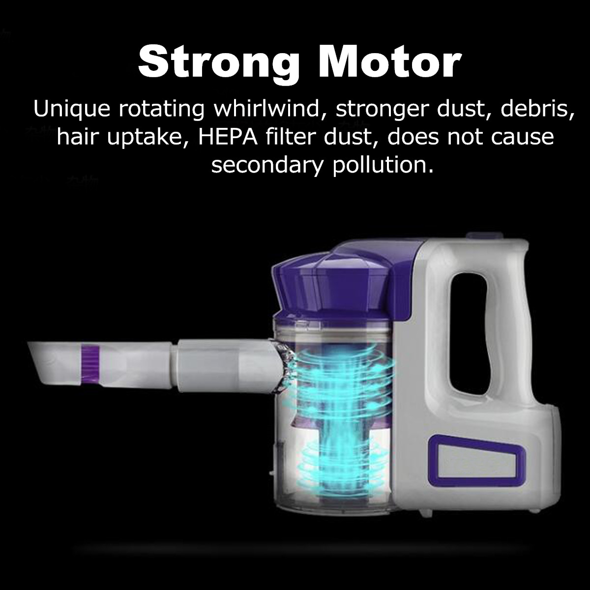 Electric Rechargeable Suction Handheld Vacuums Stick Floor Cleaner Dust Machine Vacuum Cleaner