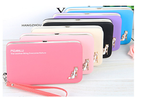 Multi-Function Women Purse Pu Wallet Mobile Phone Lovely Canteen Wallet