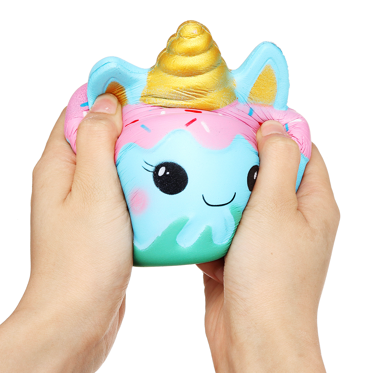 Jumbo Squishy Squeeze Unicorn Mermaid Cake Slow Rising Cream Gift Kids Toy