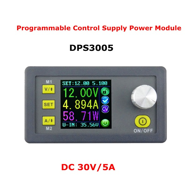 RUIDENG DPS3005 32V 5A Buck Adjustable DC Constant Voltage Power Supply Module Integrated Voltmeter Ammeter