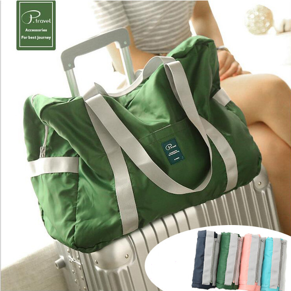 Foldable Waterproof Carry Storage Bags Outdoor Large Capacity Handbags Shoulder Bags