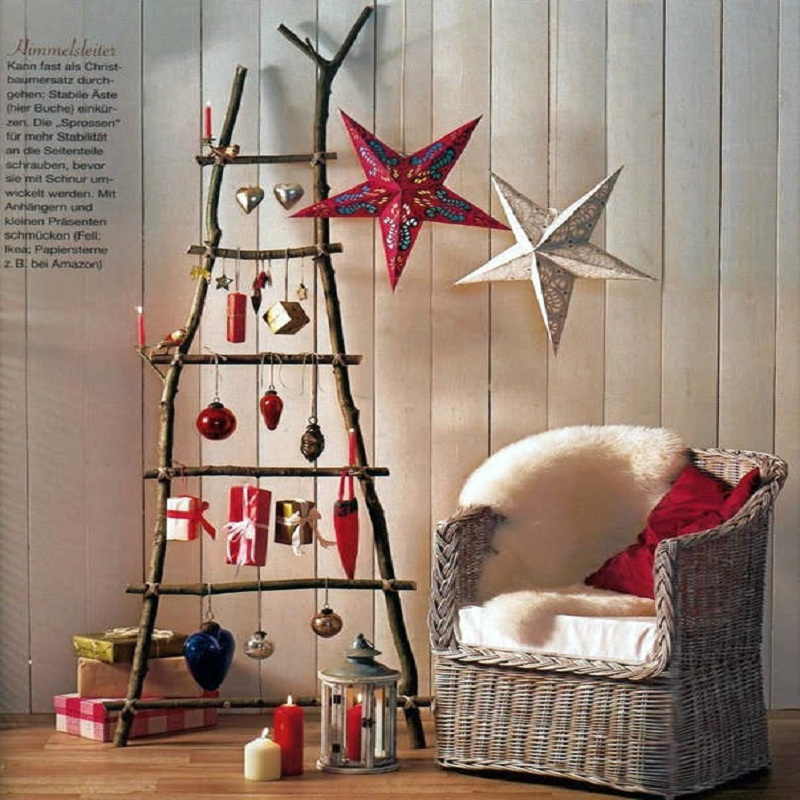 2017 Christmas Decoration Christmas Tree Star Pentagram Lampshade Star Paper Lantern Hanging Wedding Decor