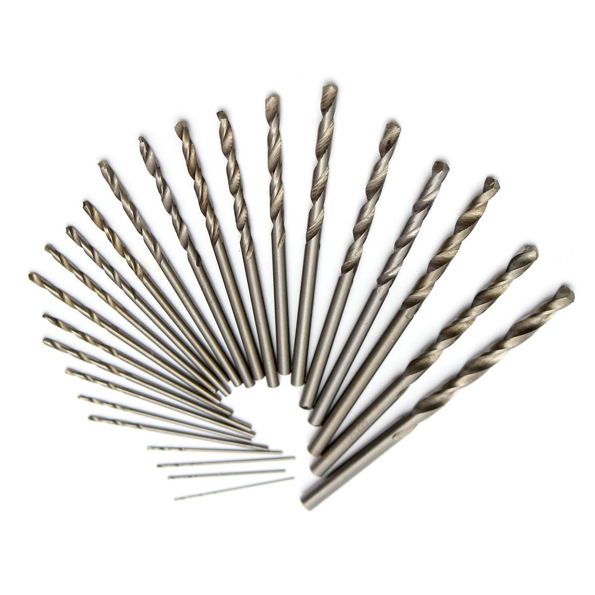 150pcs 0.4mm-3.2mm Micro Twist Drill Bit Set Mini HSS Straight Shank Drill