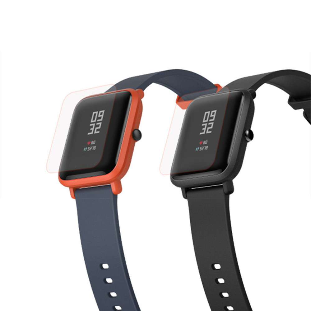 Mijobs PET Screen Protective Protector Film for Amazfit