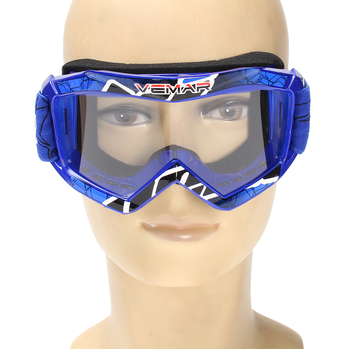 Kids Children Motorcycle DirtBike Racing Helmet Goggles Eyewear Protector