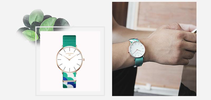 CHRONOS CH20 Rose Gold Case Unisex Wrist Watch