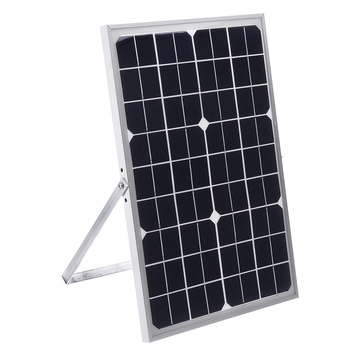 20W DC 12V Polycrystalline Solar Panel USB Solar Battery Charger with 3M Alligator Clip Wire