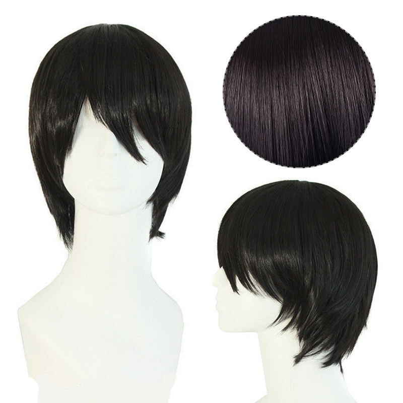 Short Straight Costume Hair Wig Cosplay for Voltron Leg