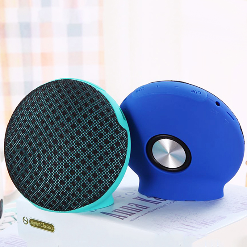 Universal Mini Stereo Desktop Wireless bluetooth Speaker with Mic for Xiaomi Samsung iPhone 8 X