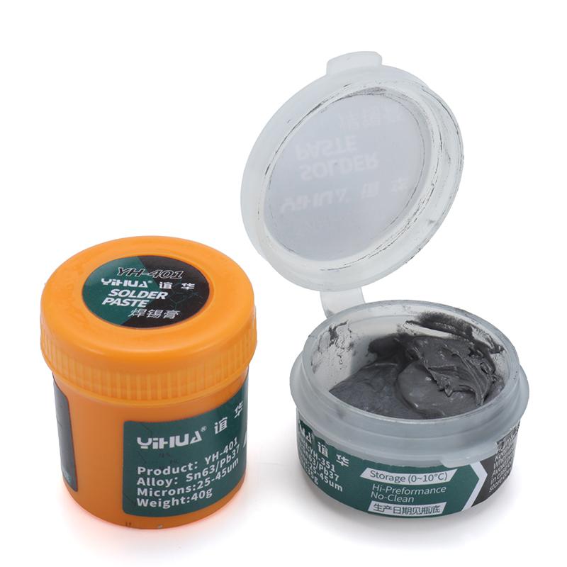YIHUA 35g/40g Solder Paste Flux NO Clean High Preformance Paste BGA Rework Soldering Repair Tools