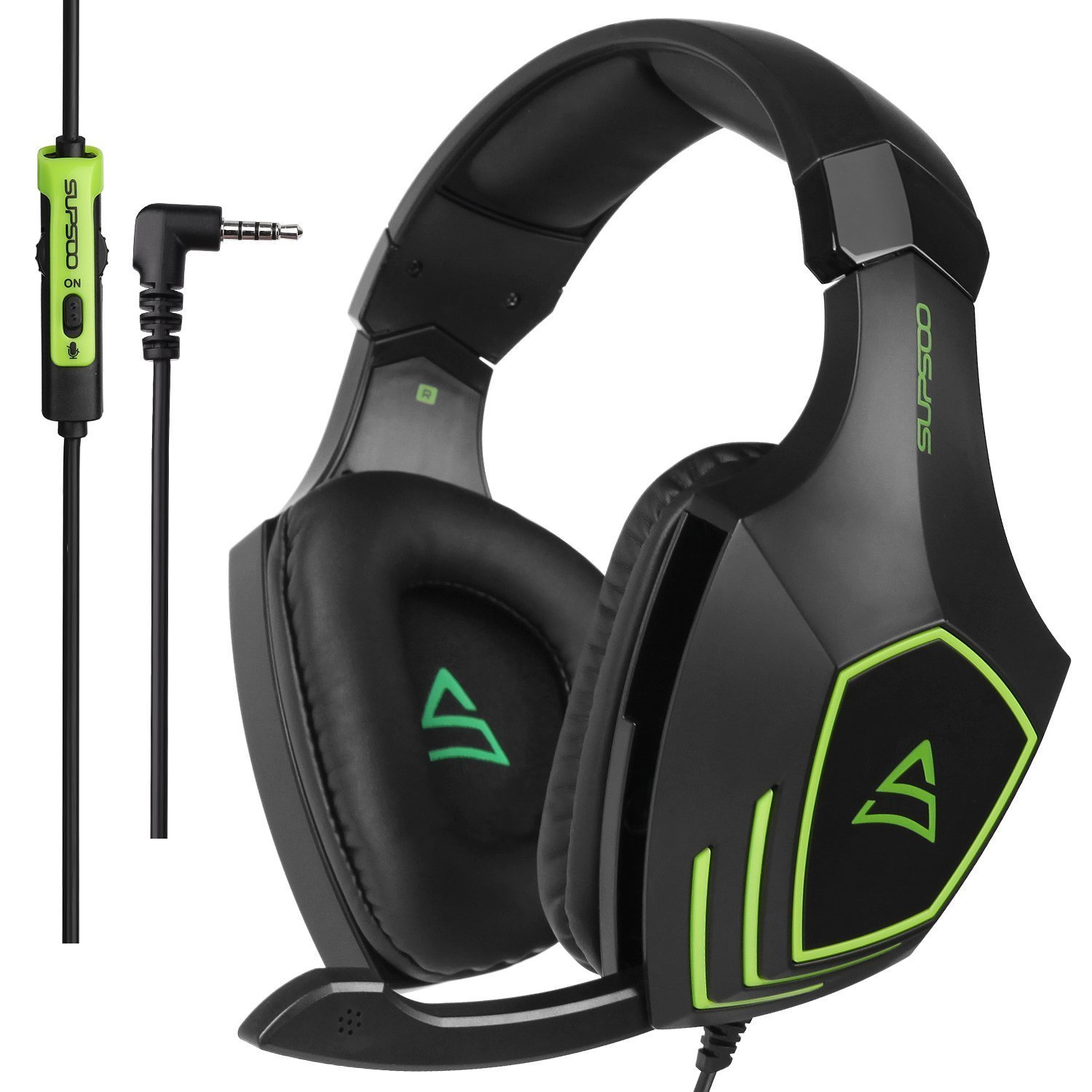 Supsoo G820 3.5MM Wired Gaming On-ear Headset Headphone