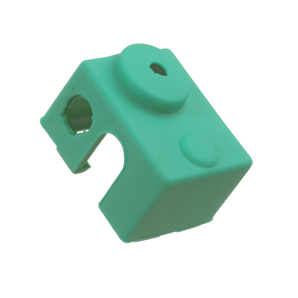 10pcs Green Universal Hotend Block Insulation Sock Silicone Case For 3D Printer