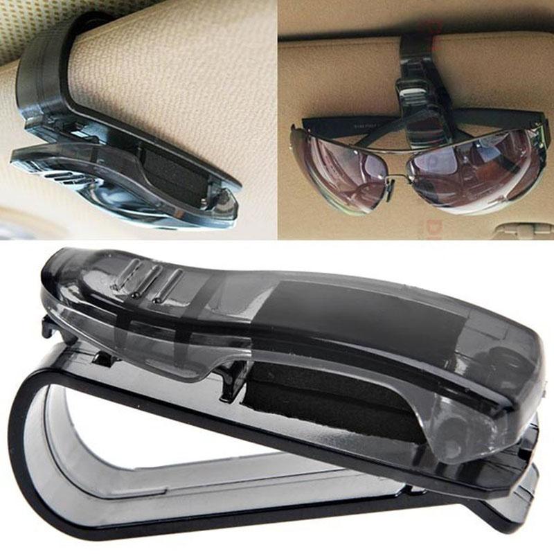 Honana HN-CH001 Portable Sunglass Holder Multifunctional Car Sun Visor Ticket Clip Holder
