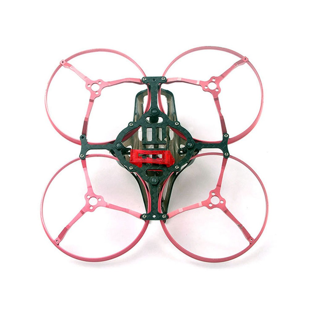 Happymodel Snapper8 85mm Cinewhoop FPV Racing RC Drone Carbon Fiber Frame Kit With CNC Aluminum Alloy Guard - Photo: 2