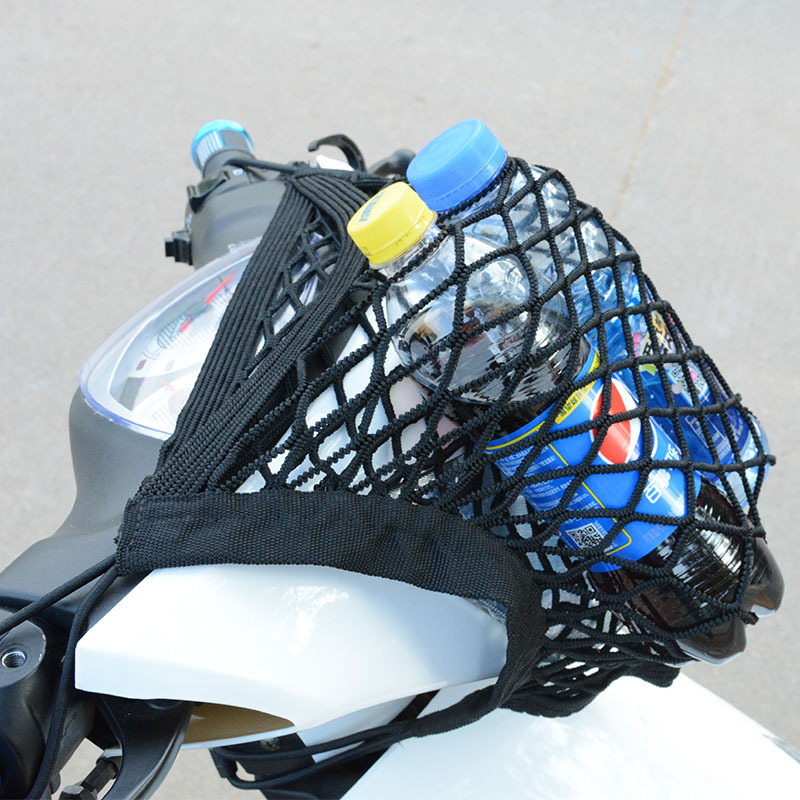 Motorcycle Luggage Net Hook Hold Bag Cargo Bike Scooter Mesh