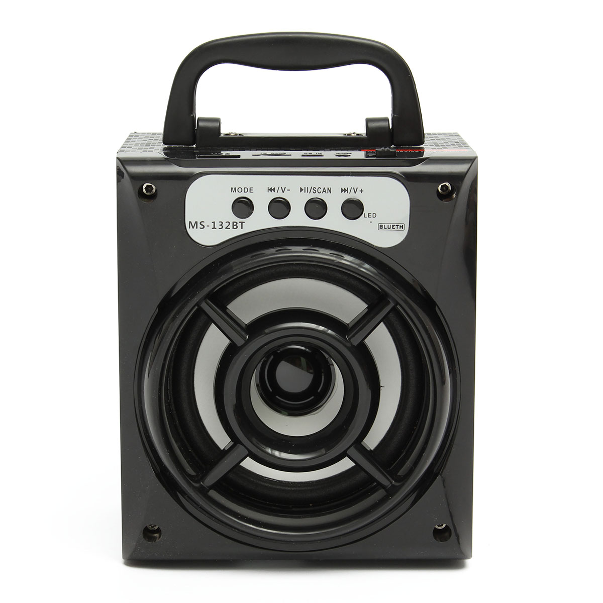 Outdoor bluetooth Portable Dance Sound Speaker 8W Super Bass With USB/TF/AUX/FM Radio