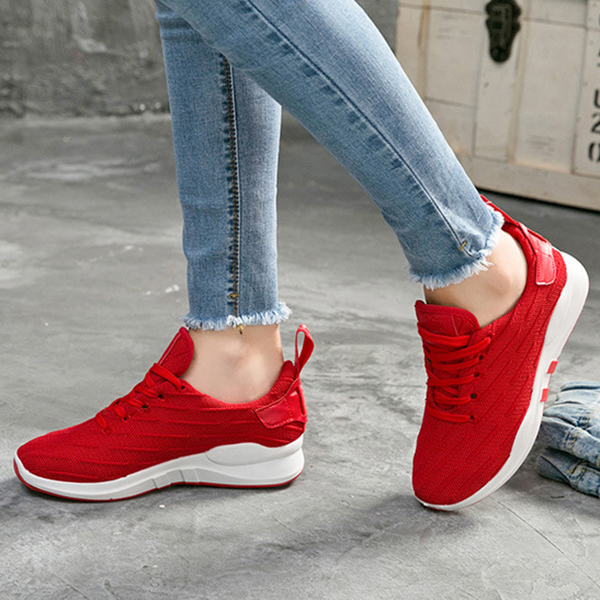 Flat Sport Casual Outdoor Running Shoes For Women