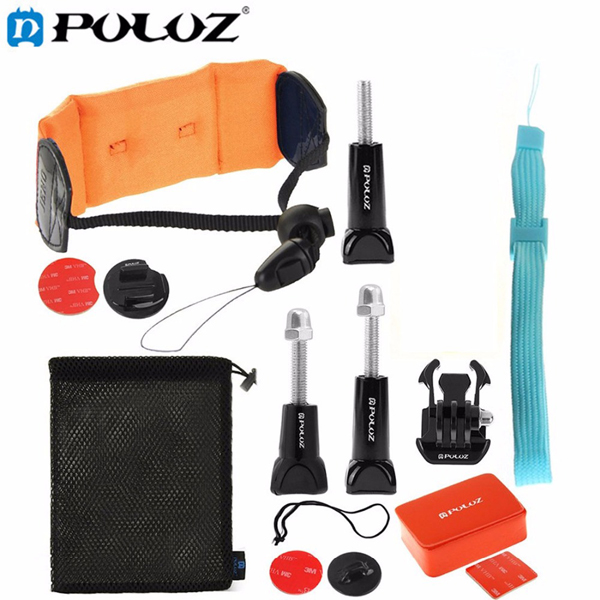 PULUZ 14 in 1 GoPro Surfing Combo Kit for Gopro SJCAM Xiaomi Yi Sports Camera