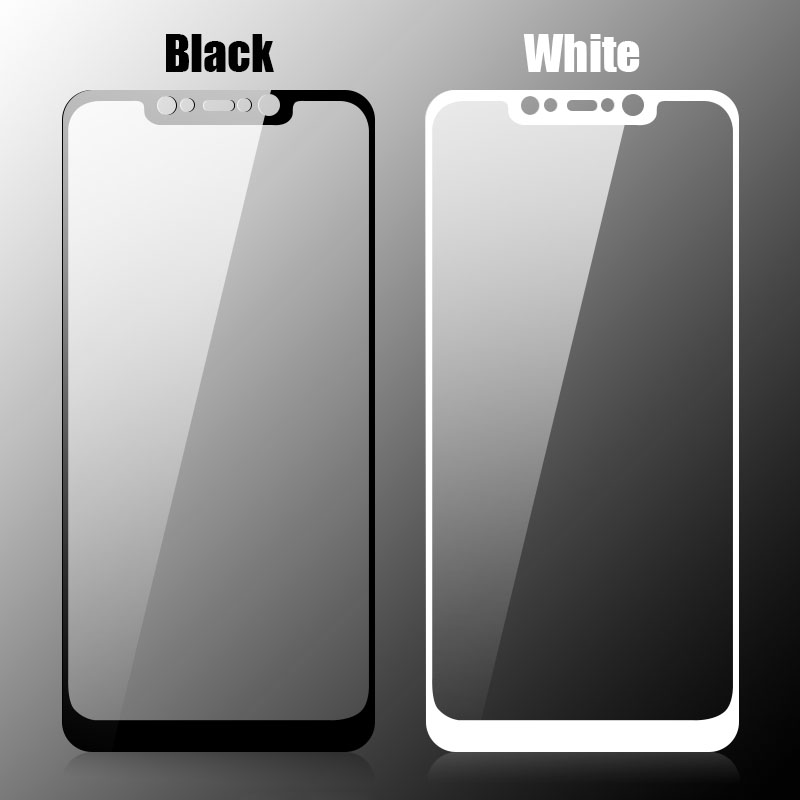 9H Anti-explosion Full Cover Tempered Glass Screen Protector for Xiaomi Pocophone F1