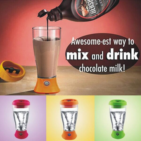350ML Electronic Protein Shaker Blender Automatic Fitne