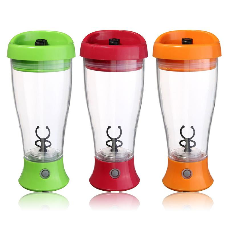 350ML Electronic Protein Shaker Blender Automatic Fitness Mixer Bottle Lazy Powder Shaker Cup