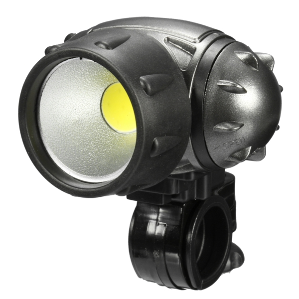 Bike Light COB LED Headlight Front Night Riding Cycling Head Light Lamp