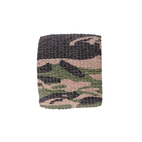 Camouflage Elastic Self-adhesive Protecting Bandage Disposable Handle Grip Tattoos Tube Cotton