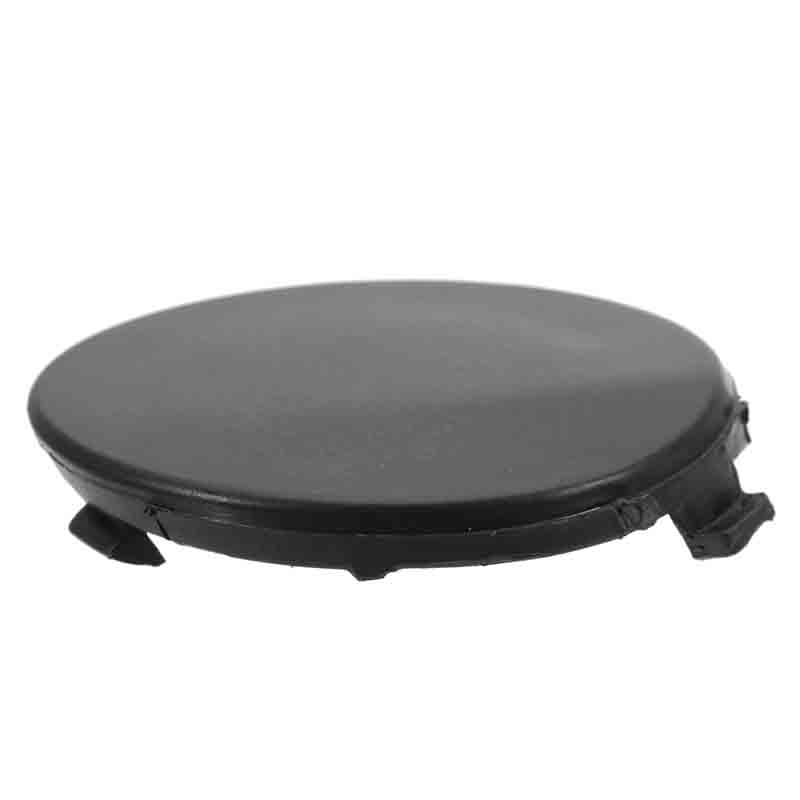 Round Front Bumper Towing Tow Eye Cover Cap Black For Ford 09-11 Focus