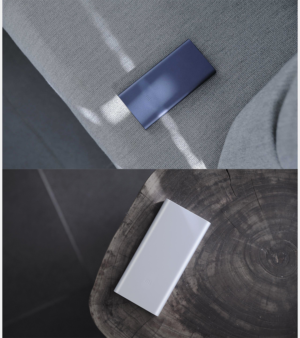 Original Xiaomi New 10000mAh Power Bank 2 Dual USB 18W Quick Charge 3.0 Charger for Mobile Phone