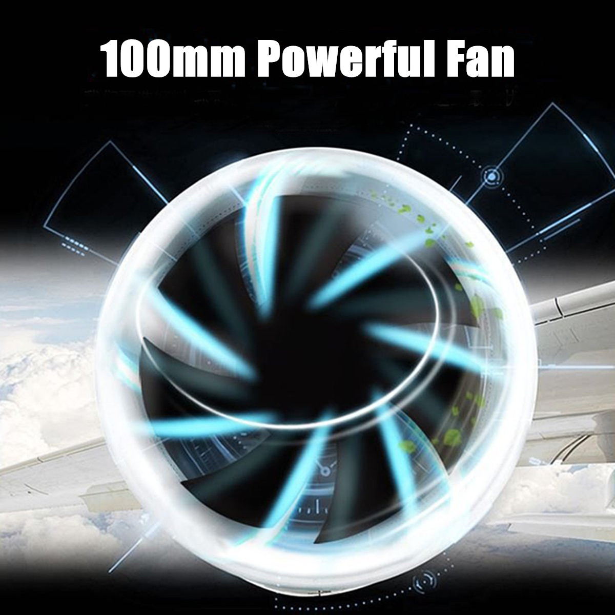 5V 5W USB Portable Mini LED Air Conditioner Equipment Air Cooler Fan Summer Cooling Machine