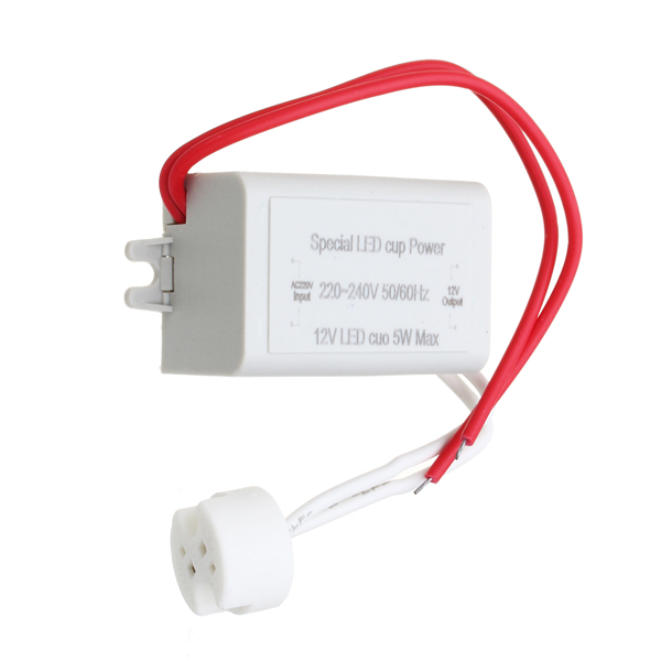 AC220-240V To DC12V 5W Power Supply LED Driver Light Transformer for MR16 MR11 Lamp Bulb
