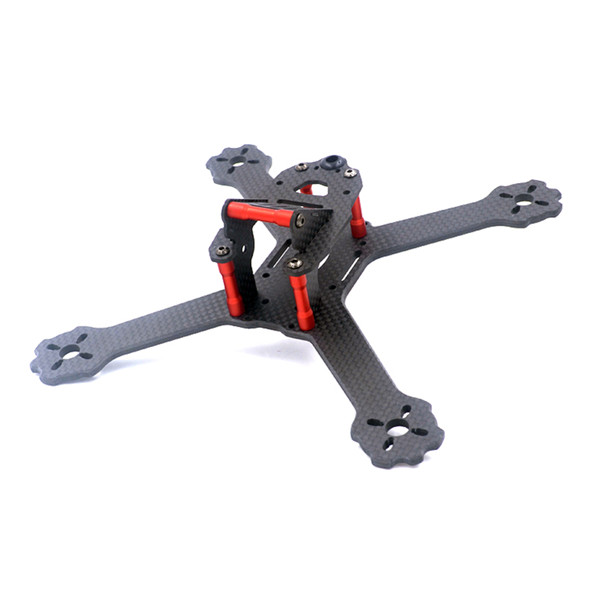 ALFA X4/X5-GTR 200mm 175mm Carbon Fiber FPV Freestyle RC Drone True X Frame kit 4mm Bottom Plate