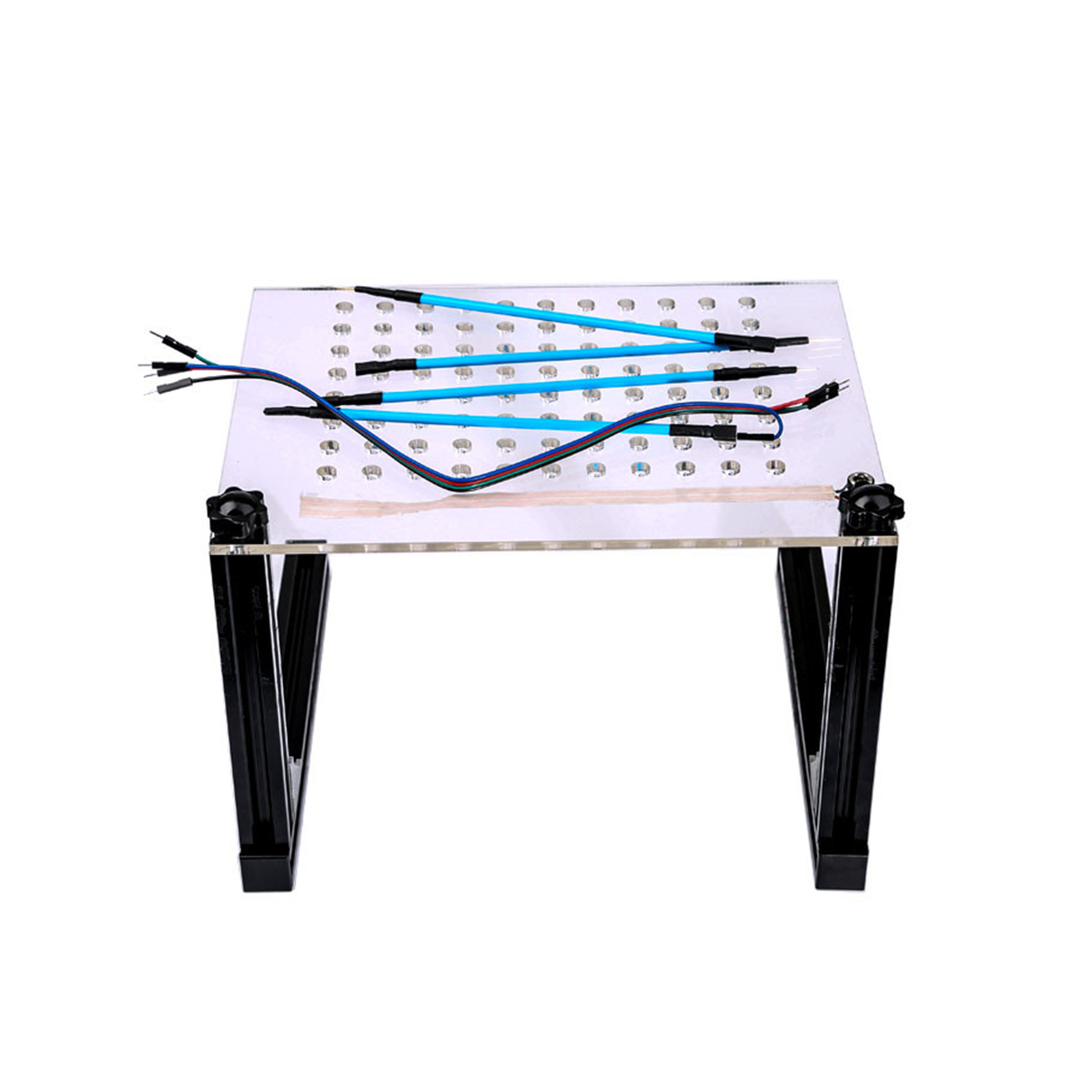 LED BDM Frame Bracket Mesh 4 Probe Pens ECU Board Modified Programmer Connect Cables For ECU