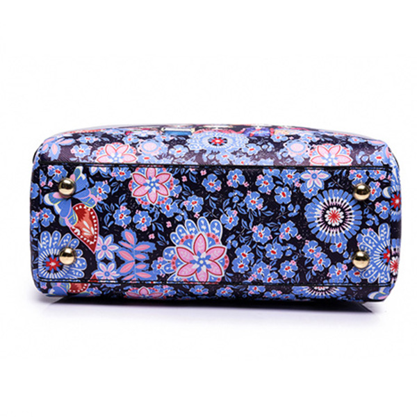 Women Printed Forest Series Floral Print Handbag