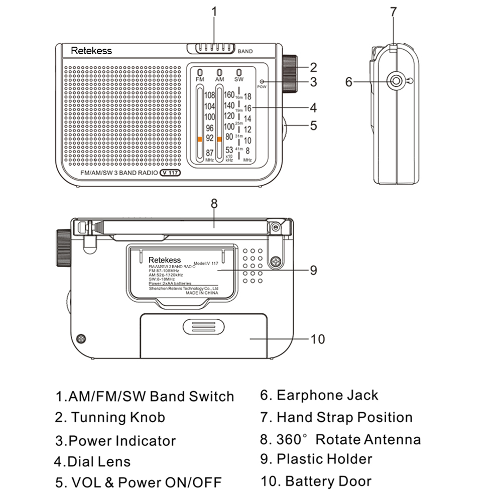 Fm Am Mw And Sw Antenna Amplifier Circuit Diagram