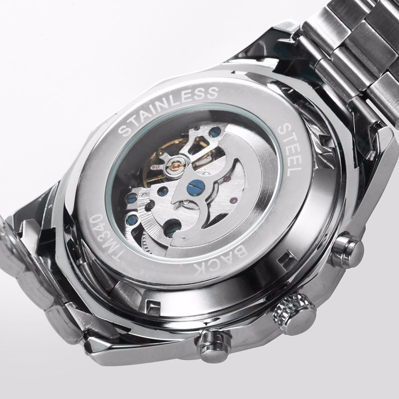 MN4493 Men Full Stainless Steel Watch