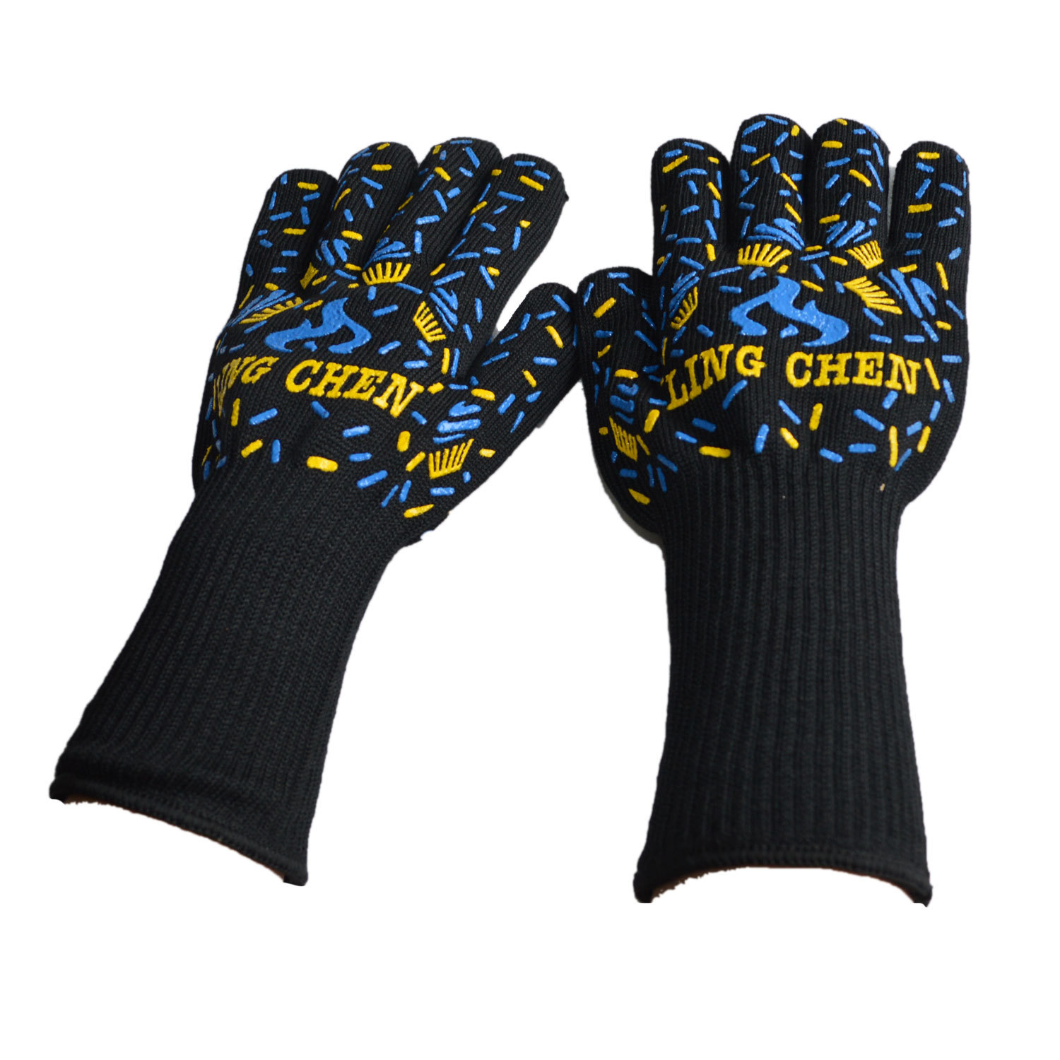 Honana CF-RG3 1 Pc Oven BBQ Mitts Cut Heat Resistant Gloves Non-slip Grilling Cooking Gloves